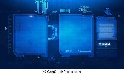 sc, veiligheid, vingerafdruk, scherm