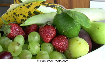 schaaltje, fruit