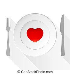 schaaltje, liefde, valentijn