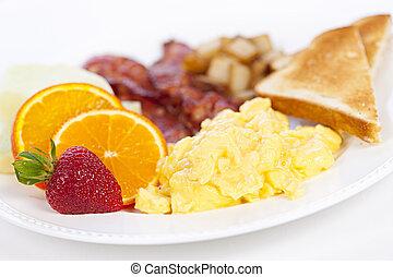 schaaltje, ontbijt