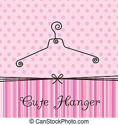 schattig, hanger