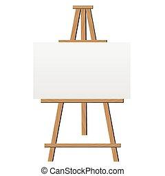 schildersezel, illustratie
