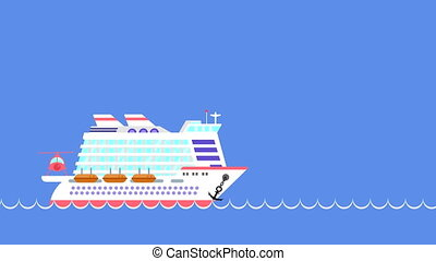 sea., zeilschip, cruise