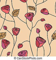 seamless, model, roos, roze