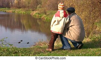senior, pond., child., eenden