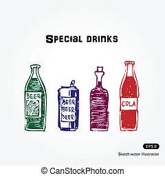 set, dranken