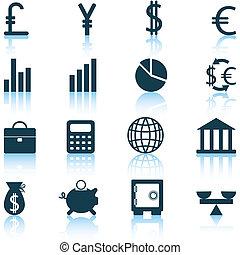 set, financiele ikonen