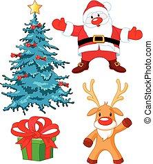 set, kerstmis