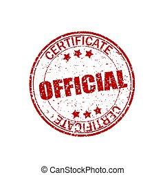 shapes., grunge, certificaat., postzegel, ouderwetse , officieel, effect, element, rubber, achtergrond., witte , retro, barst, cirkel, zeehondje, texture., ronde, rood