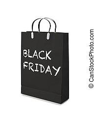 shoppen , friday., luxe, zak, black