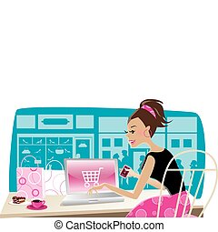 shoppen , internet
