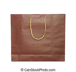 shoppen , vrijstaand, zak, achtergrond, wit rood