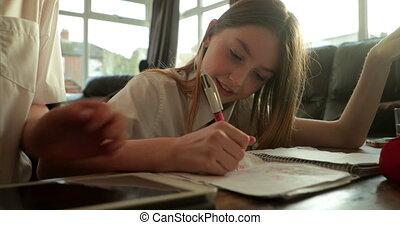 siblings, huiswerk