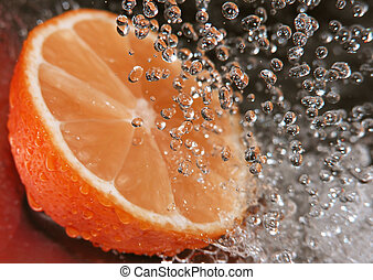 sinaasappel, bezig met vernieuwen