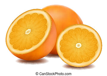 sinaasappel, fruit