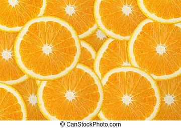 sinaasappel, fruit, sappig, achtergrond