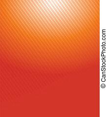 sinaasappel, helling, lijnen, illustratie, model