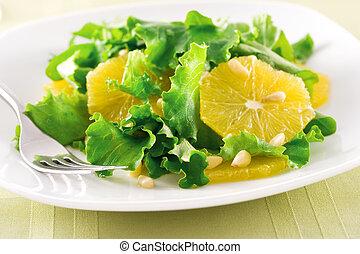 sinaasappel, slaatje