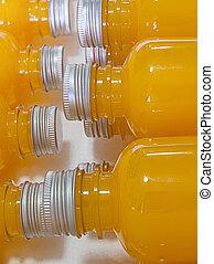 sinaasappelsap, bottle.
