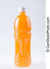 sinaasappelsap, fles