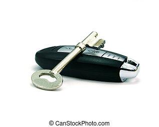 sleutels, auto