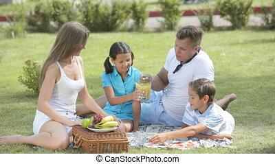 snack, gezin