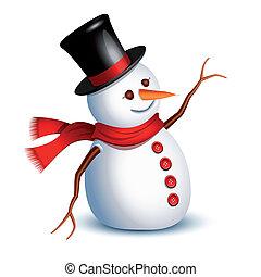 sneeuwpop, groet