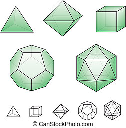 solids, platonic