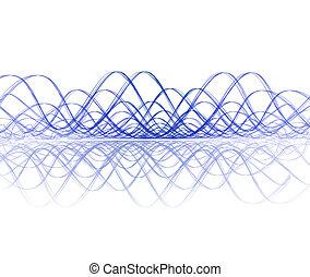 soundwave, reflectie, koel