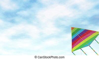speelbal, amusement, vlieger, -