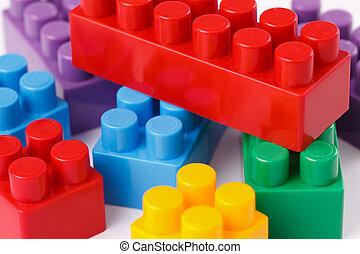 speelgoed belemmert, plastic