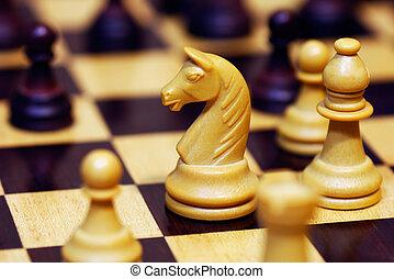 spel, schaakspel