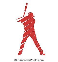 speler, honkbal