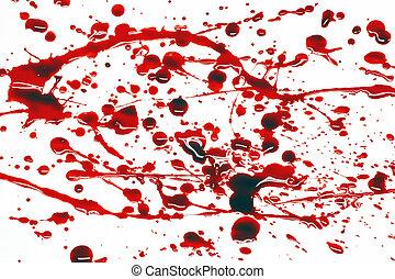 splatter, bloed