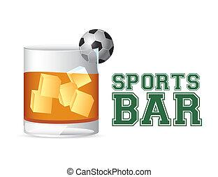 sporten, bar