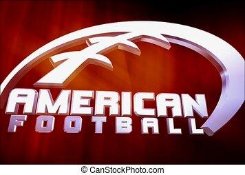 sportende, amerikaan voetbal, amusement