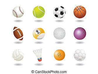 sportende, gelul, pictogram