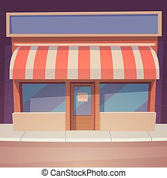 spotprent, winkel