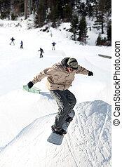sprong, snowboard