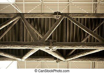 staal, vezel, balk, vuur, bekleding, tegen, applyed, glas, bescherming, witte , structuur
