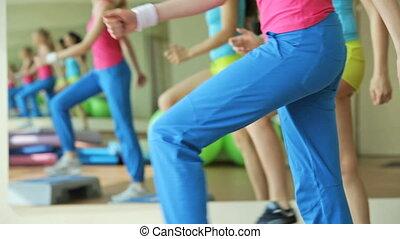 stap aerobics