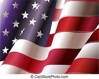 staten, verenigd, –, poster, ontwerpers, onafhankelijkheid, 4, dag, america., juli, grafisch