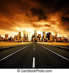 stedelijke , snelweg