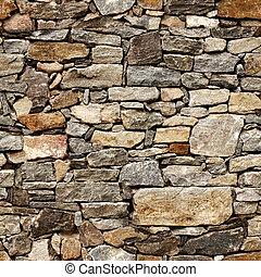 steen belemmert, middeleeuws, muur, seamless, textuur