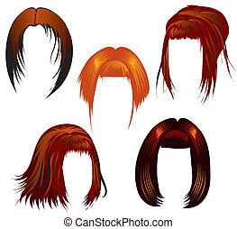stel haren, vormgeving