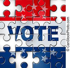 stem, problemen, democratie