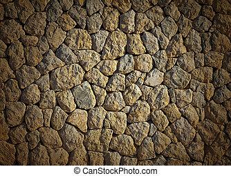 stenen, muur