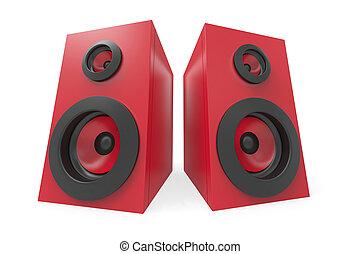 stereo, sprekers