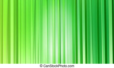 stijl, looped, 4k., abstract, moderne, seamless, poly, achtergrond., animatie, groene, colors., oppervlakte, 2, helling, 3d, curtains., laag