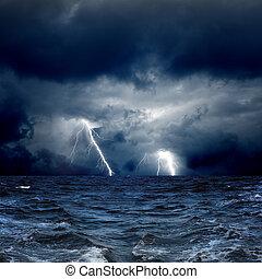stormachtige zee